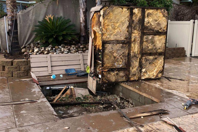 San Diego Hot Tub Spa Removal